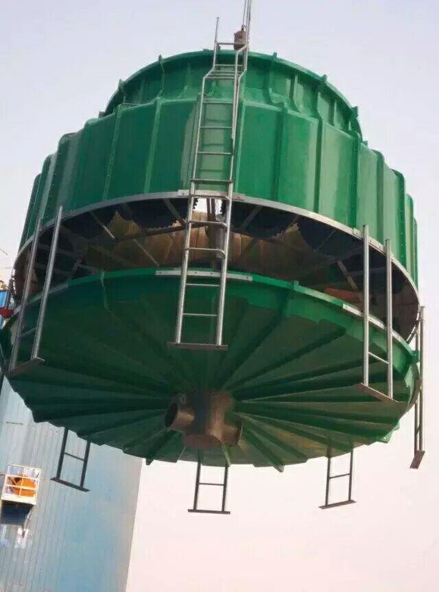 减少冷却塔填料堵塞的措施